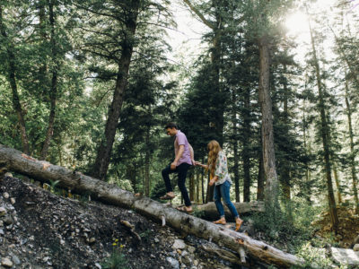 James & Savannah // American Fork Canyon Engagement